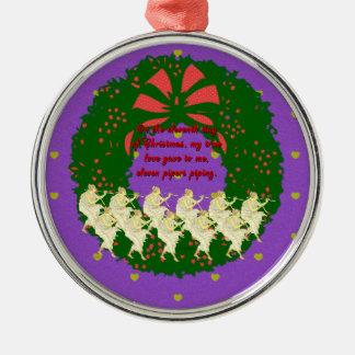 De tolv dagarna av julsamlingen: Dag 11 Julgransprydnad Metall