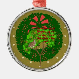 De tolv dagarna av julsamlingen: Dag en Julgransprydnad Metall