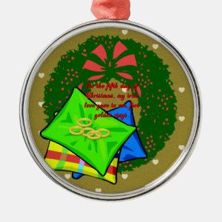 De tolv dagarna av julsamlingen: Dag fem Julgransprydnad Metall