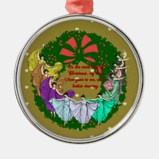De tolv dagarna av julsamlingen: Dag nio Julgransprydnad Metall