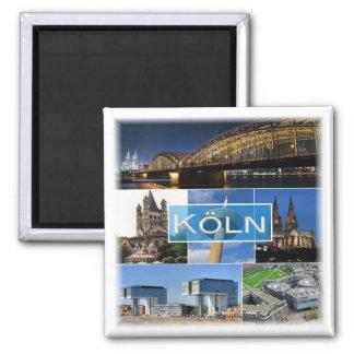 DE * Tyskland - Cologne Köln Magnet