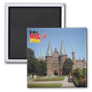 DE - Tyskland - Lübeck Magnet
