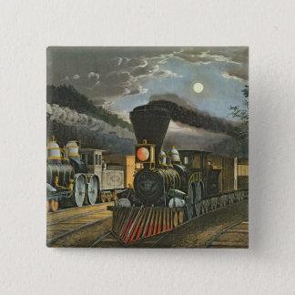 De uttryckliga tågen för blixt, 1863 standard kanpp fyrkantig 5.1 cm