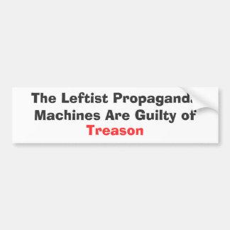 De vänsterorienterade propagandamaskinerna är skyl bildekaler