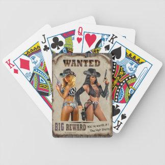 De varma shotsna spelkort