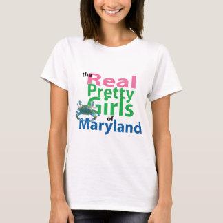 De verkliga nätt flickorna av Maryland Tee Shirt