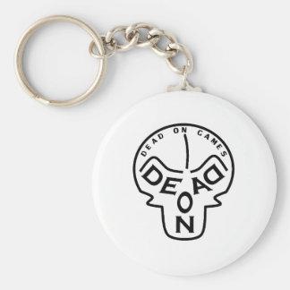 DEAD PÅ GAMES® - Merchandise Rund Nyckelring