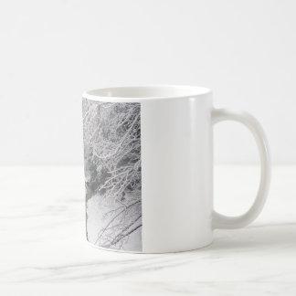 Deadna av vintern vit mugg