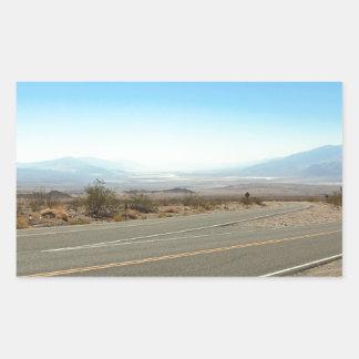 Death Valley 12 Rektangulärt Klistermärke