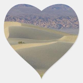 Death Valley 5 Hjärtformat Klistermärke