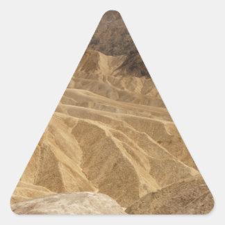 Death Valley 6 Triangelformat Klistermärke
