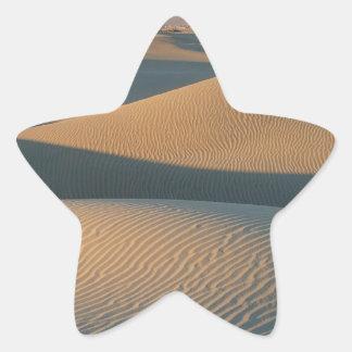Death Valley 9 Stjärnformat Klistermärke