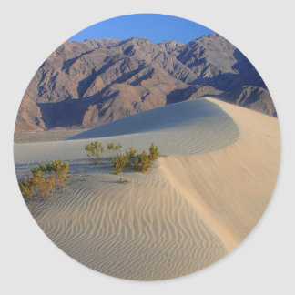 Death Valley Kalifornien Runt Klistermärke