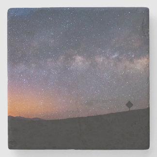 Death Valley milky långt solnedgång Underlägg Sten