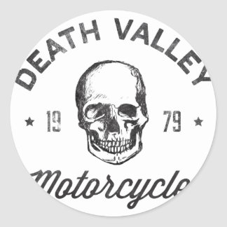 Death Valley motorcyklar Klistermärke
