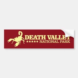 Death Valley nationalpark Bildekal