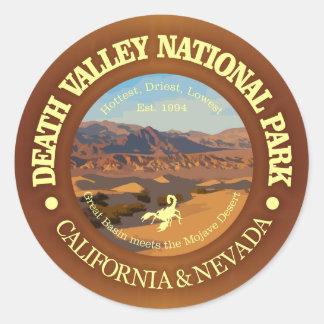 Death Valley nationalpark Runt Klistermärke