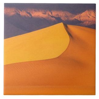 Death Valley på gryning. Kalifornien Kakelplatta