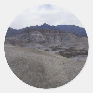 Death Valley plats 01 Runt Klistermärke