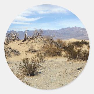 Death Valley plats 04 Runt Klistermärke