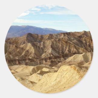 Death Valley plats 06 Runt Klistermärke