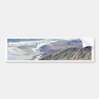 Death Valley salt ökenberg Bildekal