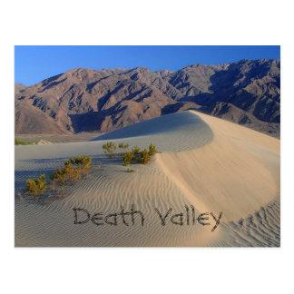 Death Valley Sanddyner Vykort
