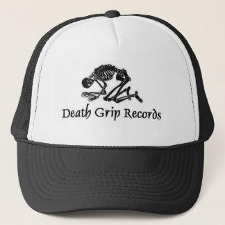 deathgripblacklogo truckerkeps