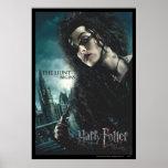 Deathly Hallows - Bellatrix Lestrange 2 Poster