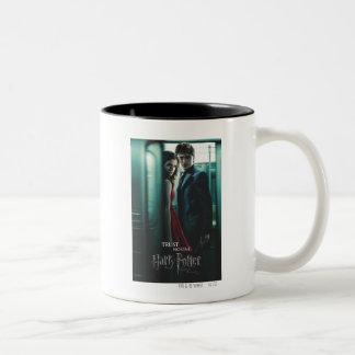 Deathly Hallows - Harry och Hermione Två-Tonad Mugg