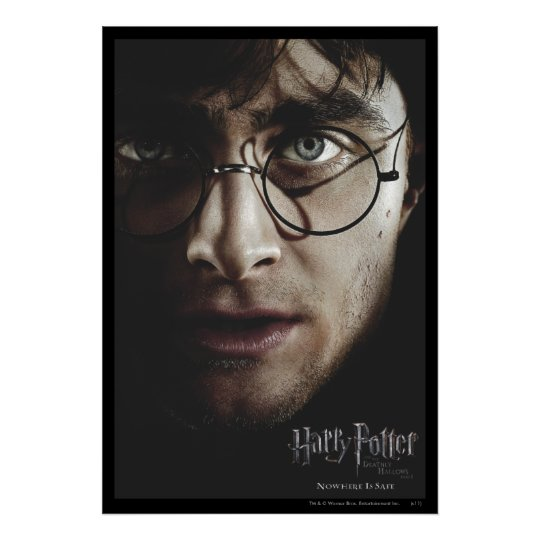 Deathly Hallows - Harry Potter Poster