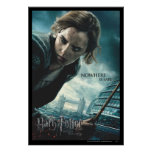 Deathly Hallows - Hermione 2 Poster