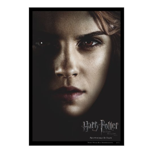 Deathly Hallows - Hermione Poster