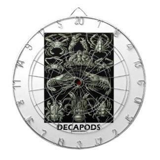 Decapods Ernest Haeckel Artforms av naturen Dart Tavla