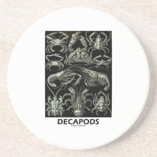 Decapods Ernest Haeckel Artforms av naturen Glasunderlägg I Sandsten