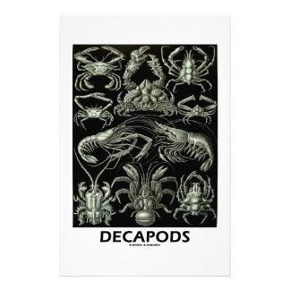 Decapods Ernest Haeckel Artforms av naturen Stationär