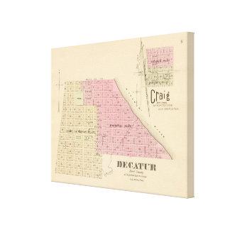 Decatur Nebraska Canvastryck