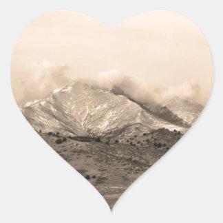 December 16th beskådar tvilling- maximal hjärtformat klistermärke
