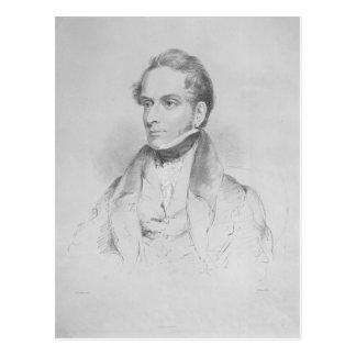 Decimus Burton, lithograph vid sentensen Gauci Vykort