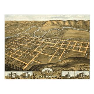 Decorah Winneshiek län, Iowa (1870) Vykort