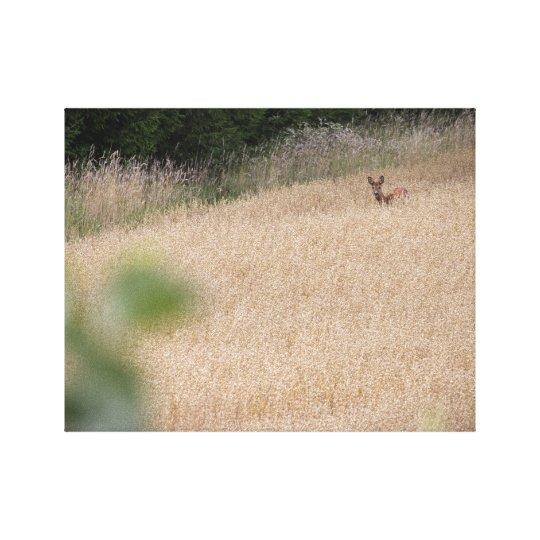 Deer 2 canvastryck