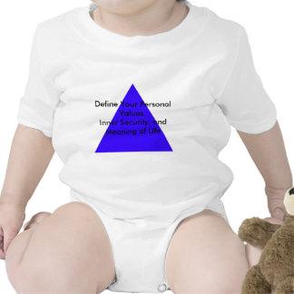 Definiera ditt personligt värderar, inre bodies för bebisar