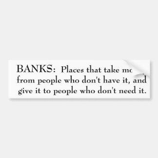Definition av bankerbildekalet bildekal