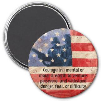 Definition av magneten för runda för magnet