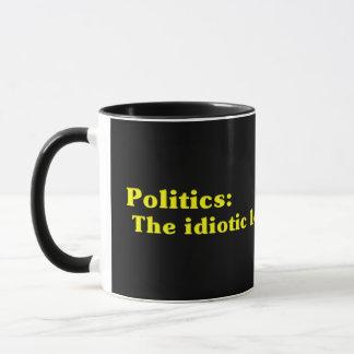 Definition av politik mugg