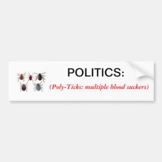 Definition av politikbildekalet bildekal