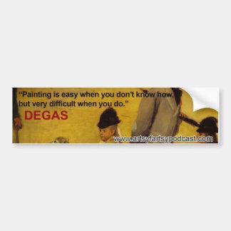 Degas den ArtsyFartsy bildekalet Bildekal