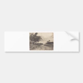 Degas vägen bildekal