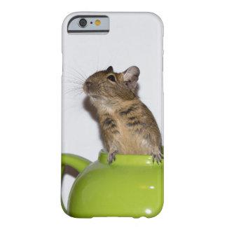 Degu i en grön tekanna barely there iPhone 6 fodral