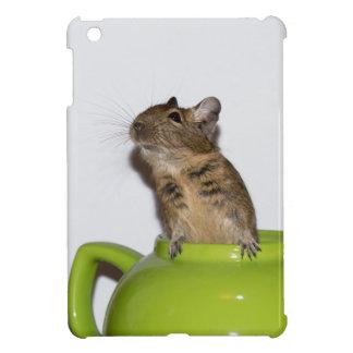 Degu i grön tekanna iPad mini mobil fodral